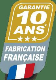 Garantie 10 ans Fabrication  Française