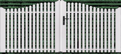 Portail PVC Accordéon