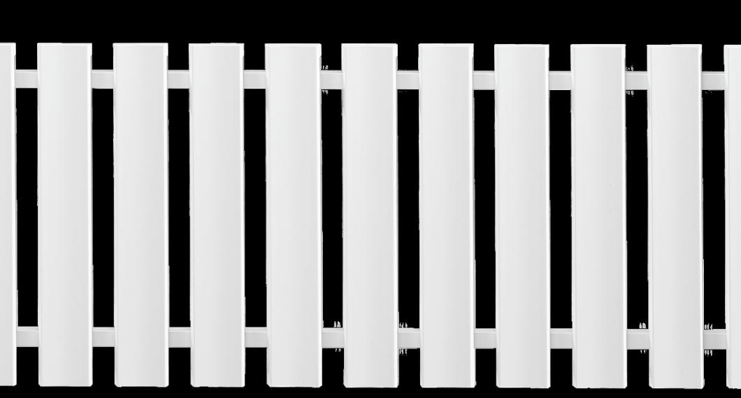 Clôture PVC Aigu