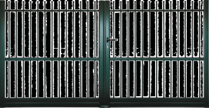 Portail aluminium Arcade