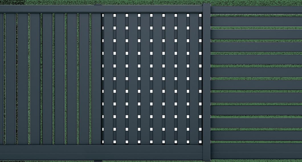Portail aluminium Argemone