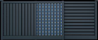 Couleur 7016 SMF Barreaux couleur MGV 5015 (option couleur Mutation)