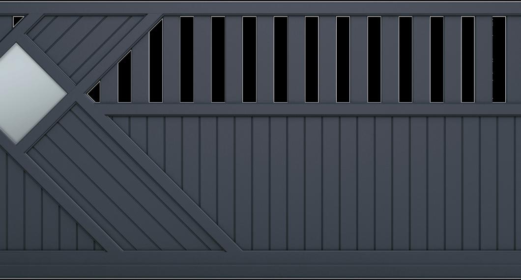 Portail aluminium Avarra