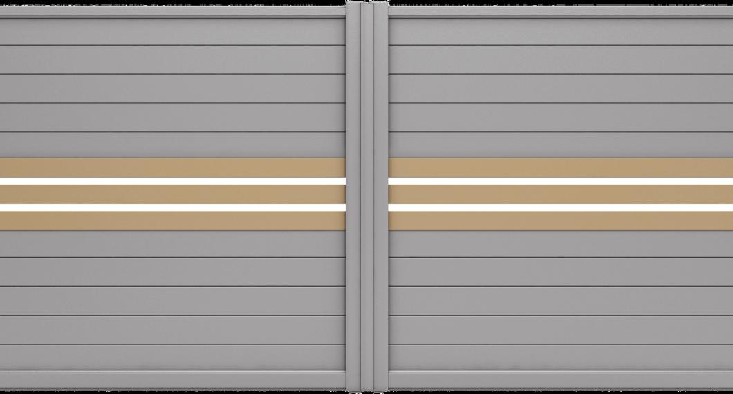 Portail aluminium Barbacenia