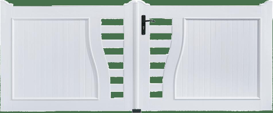 Portail PVC Batterie