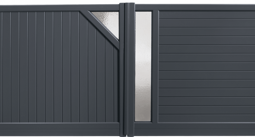 Portail aluminium Boléro