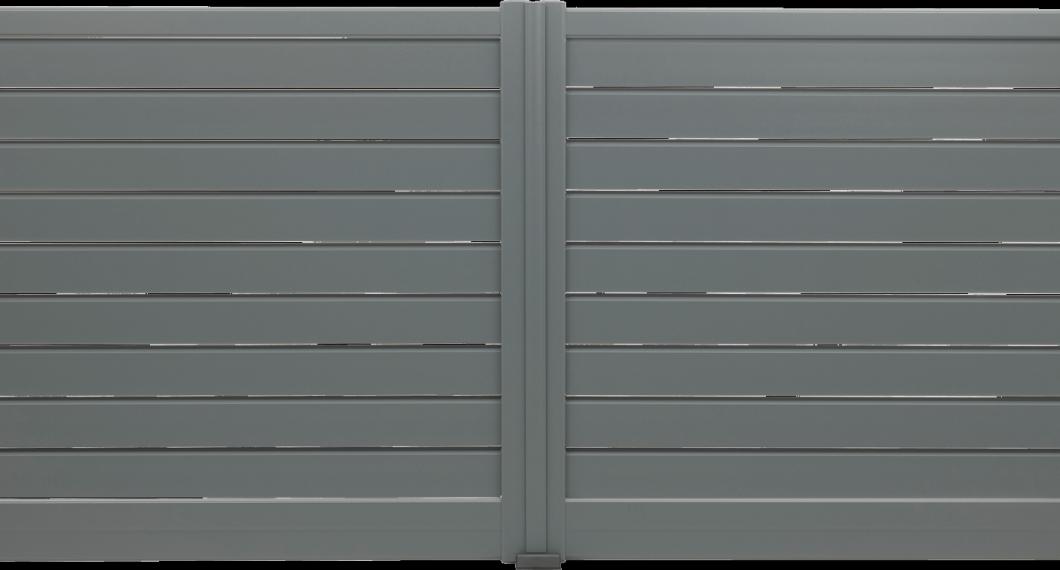 Portail aluminium Bossa