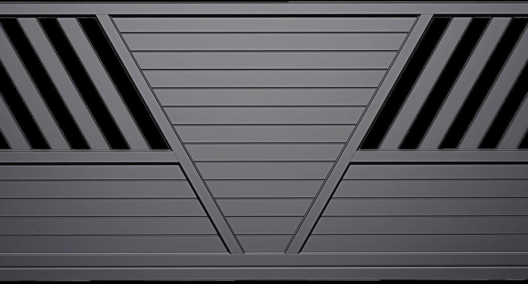 Portail aluminium Brosme