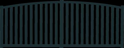 Portail aluminium Bruine par Charuel
