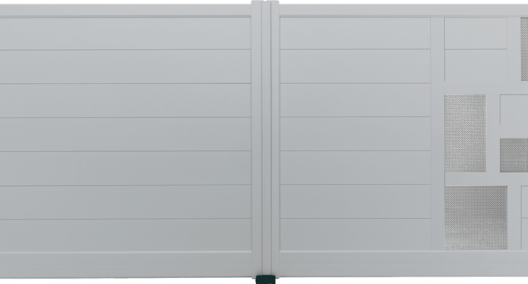 Portail aluminium Budale