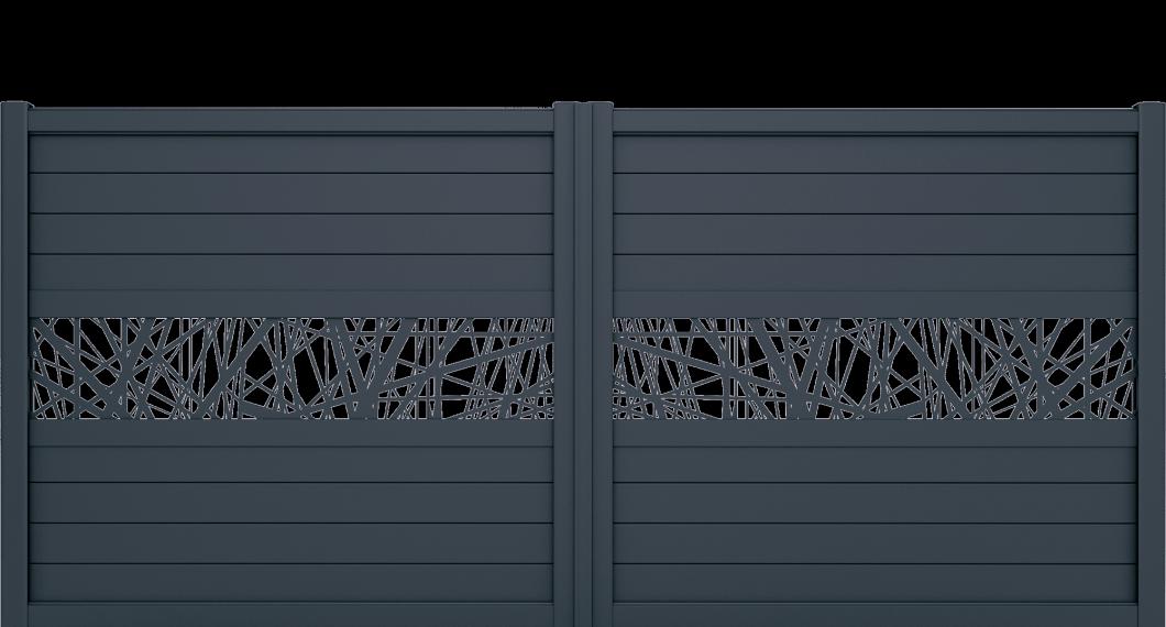 Portail aluminium Capret