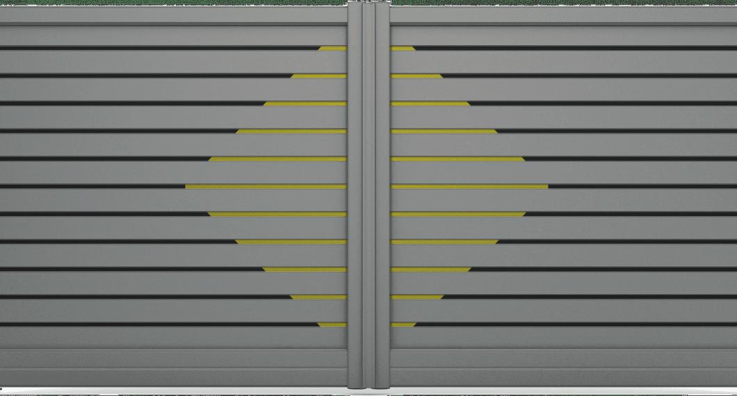 Portail aluminium Carassin