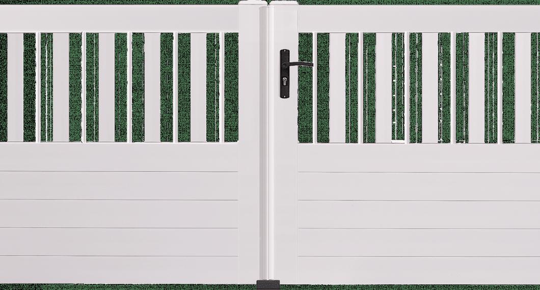 Portail PVC Cassiopée