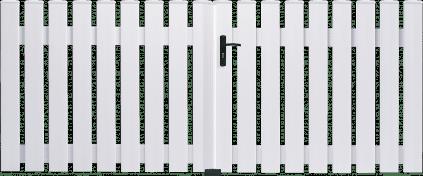 Portail PVC Castagnette