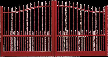Portail aluminium Château
