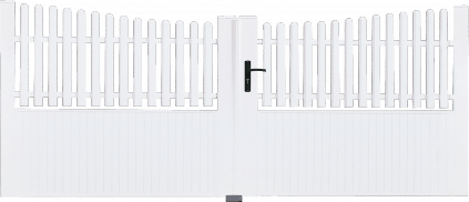 Portail PVC Clavecin
