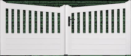 Portail PVC Clochette