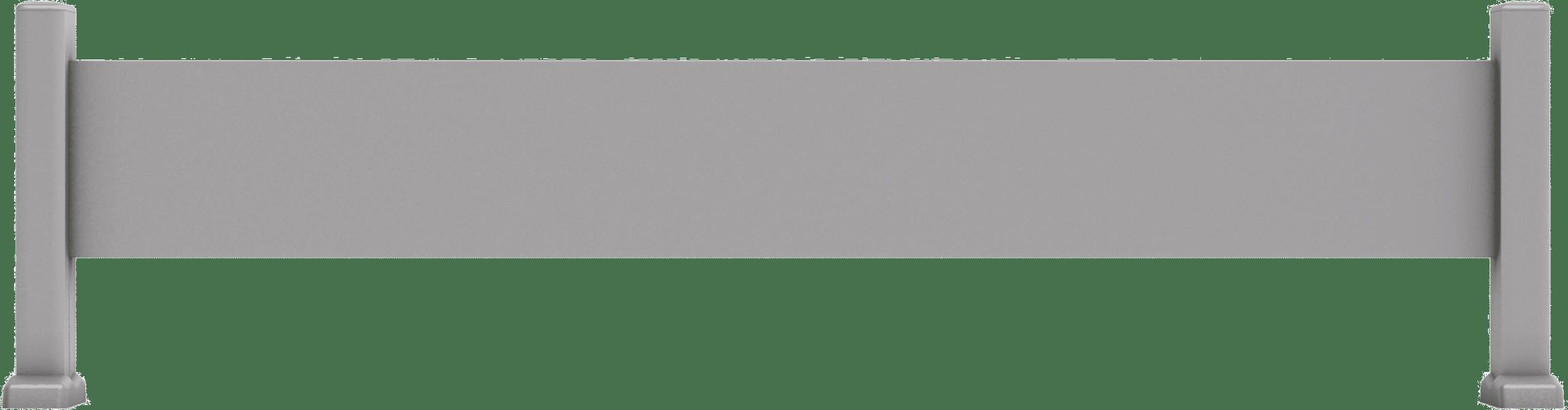 cl ture aluminium 1 lisse 200 20 les mod les contemporains charuel. Black Bedroom Furniture Sets. Home Design Ideas