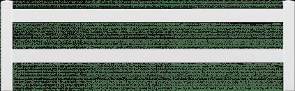 Clôture PVC à 2 lisses