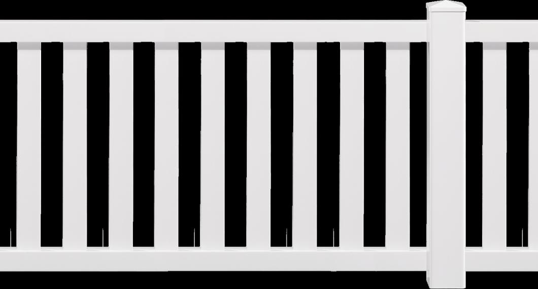 Clôture PVC Chant