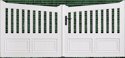Portail PVC Contrebasse