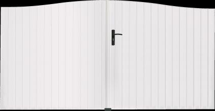 Portail PVC Cor