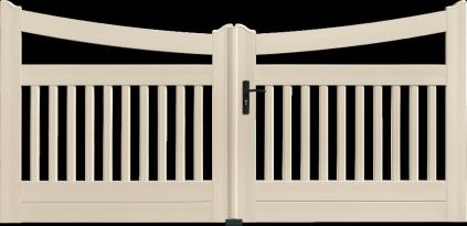 Portail PVC Cornemuse