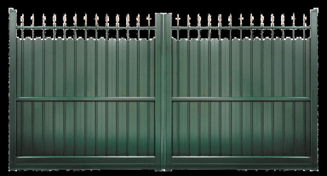 Portail aluminium Croisade
