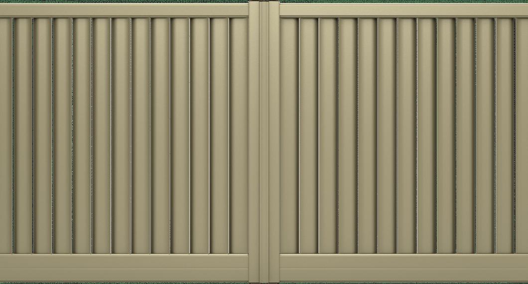 Portail aluminium Cumbia