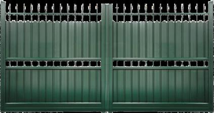 Portail aluminium Demeure