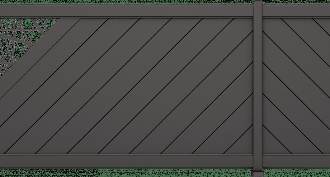 Clôture aluminium Disco