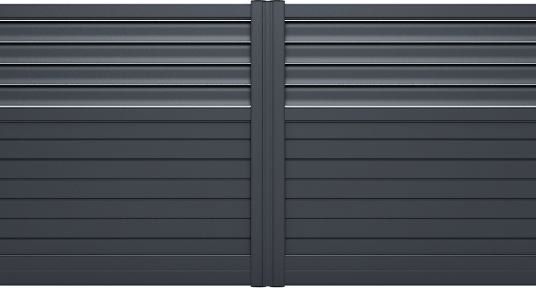 Portail aluminium Diva