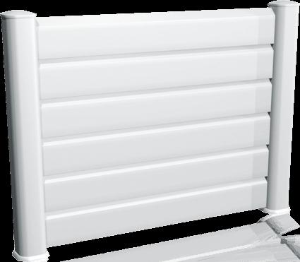 Clôture PVC Esquisse