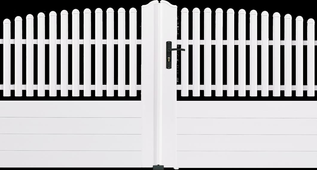 Portail PVC Flûte