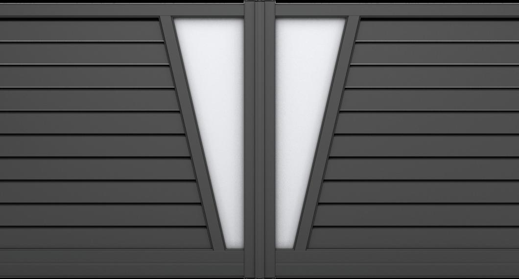 Portail aluminium Funk