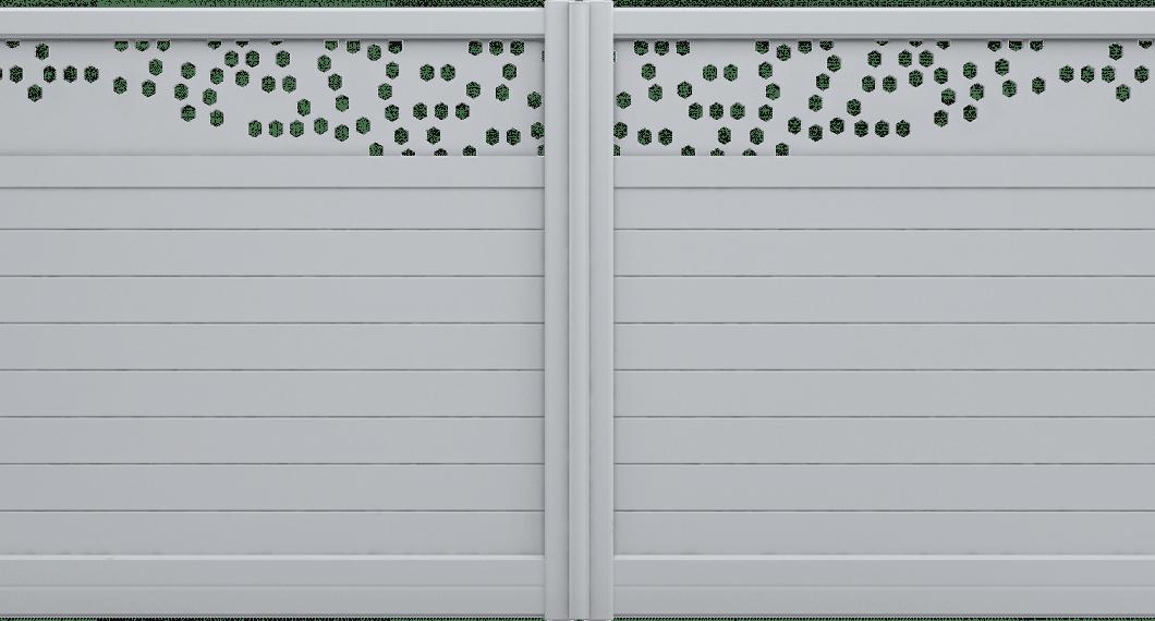 Portail aluminium Gambusia