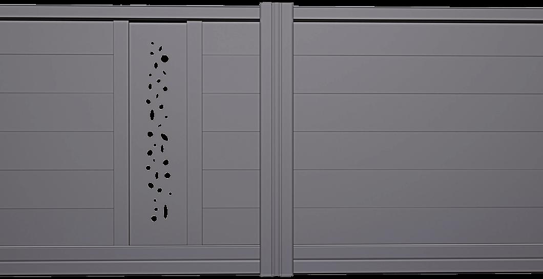 Portail aluminium Girelle