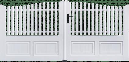 Portail PVC Gong