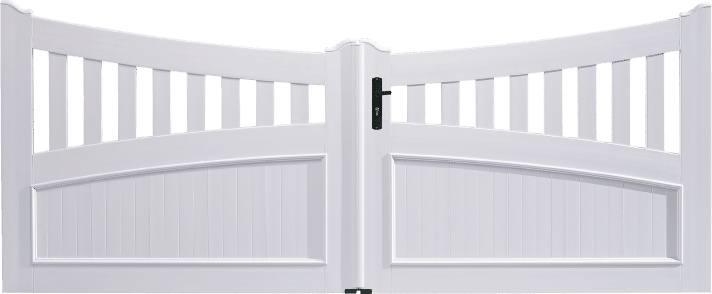 Portail PVC Harmonica