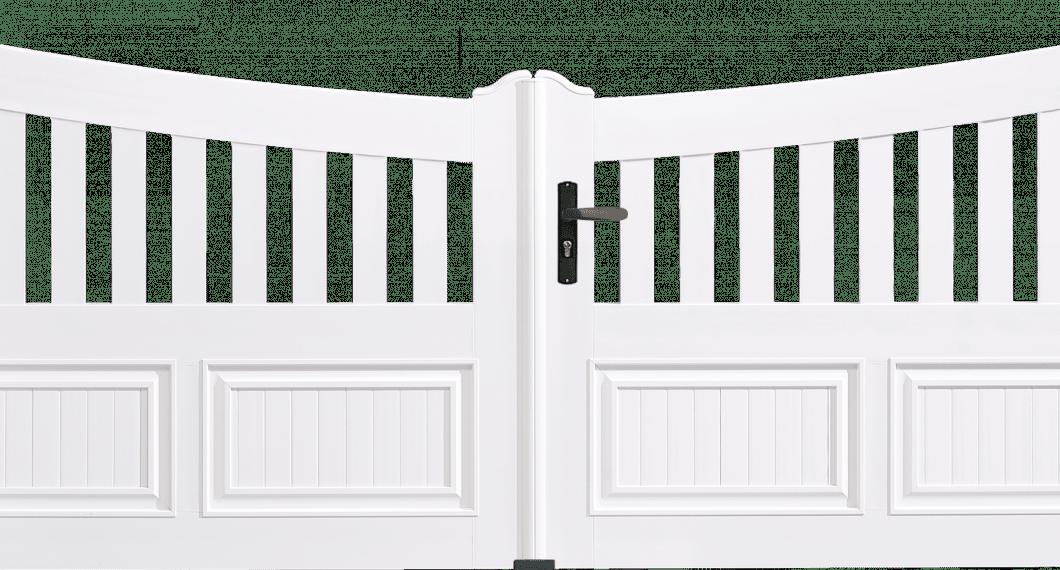 Portail PVC Harmonium