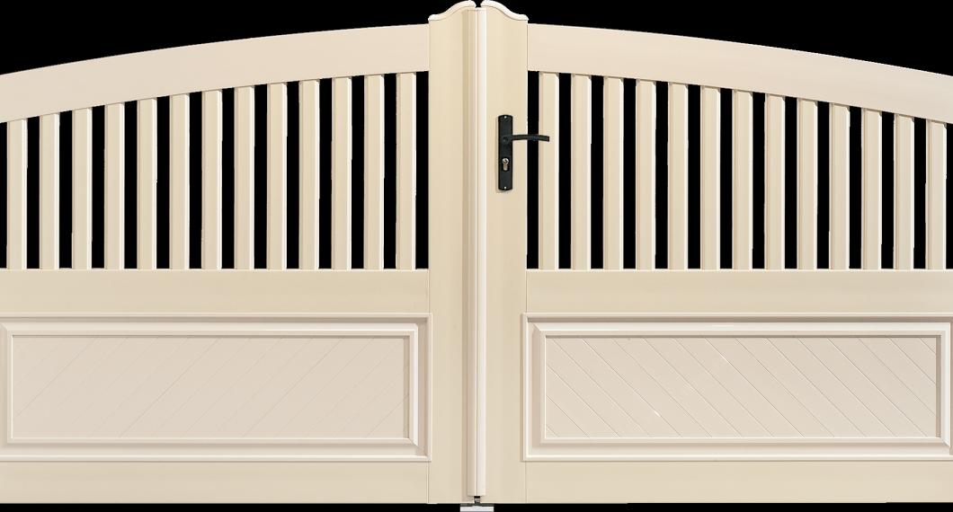 Portail PVC Harpe