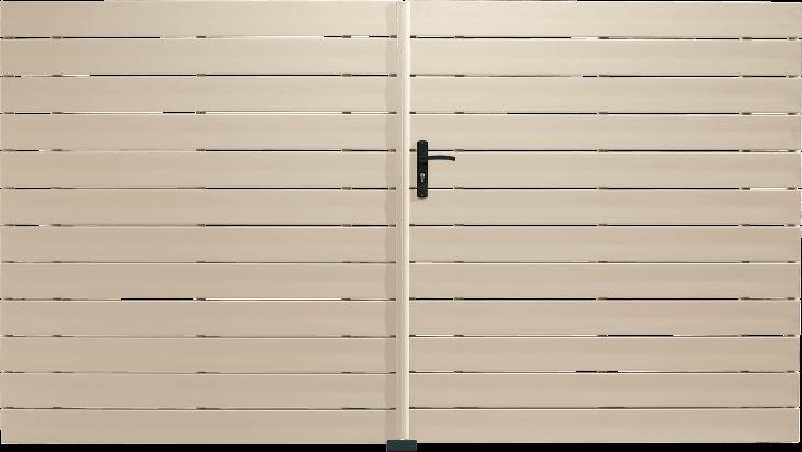 Portail PVC Hautbois