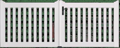 Portail PVC Hémisphère