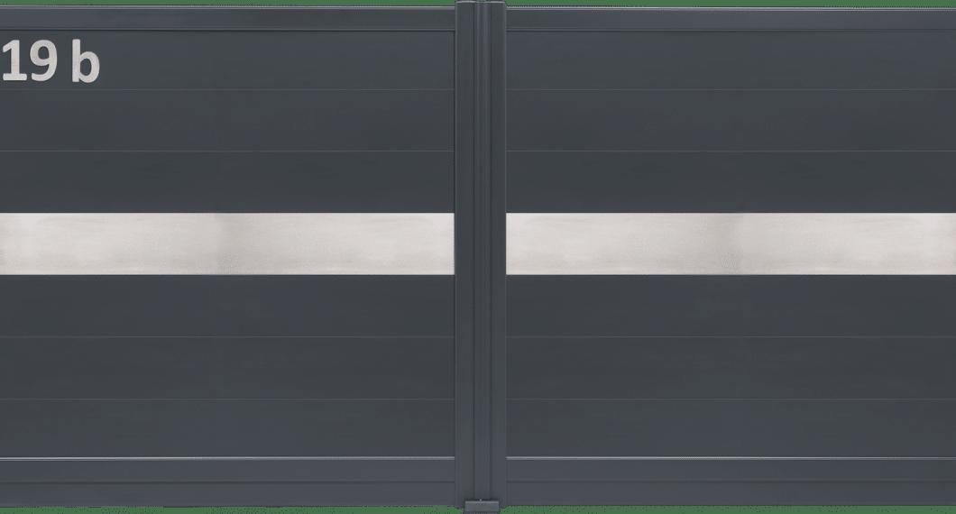 Portail aluminium Inoxium