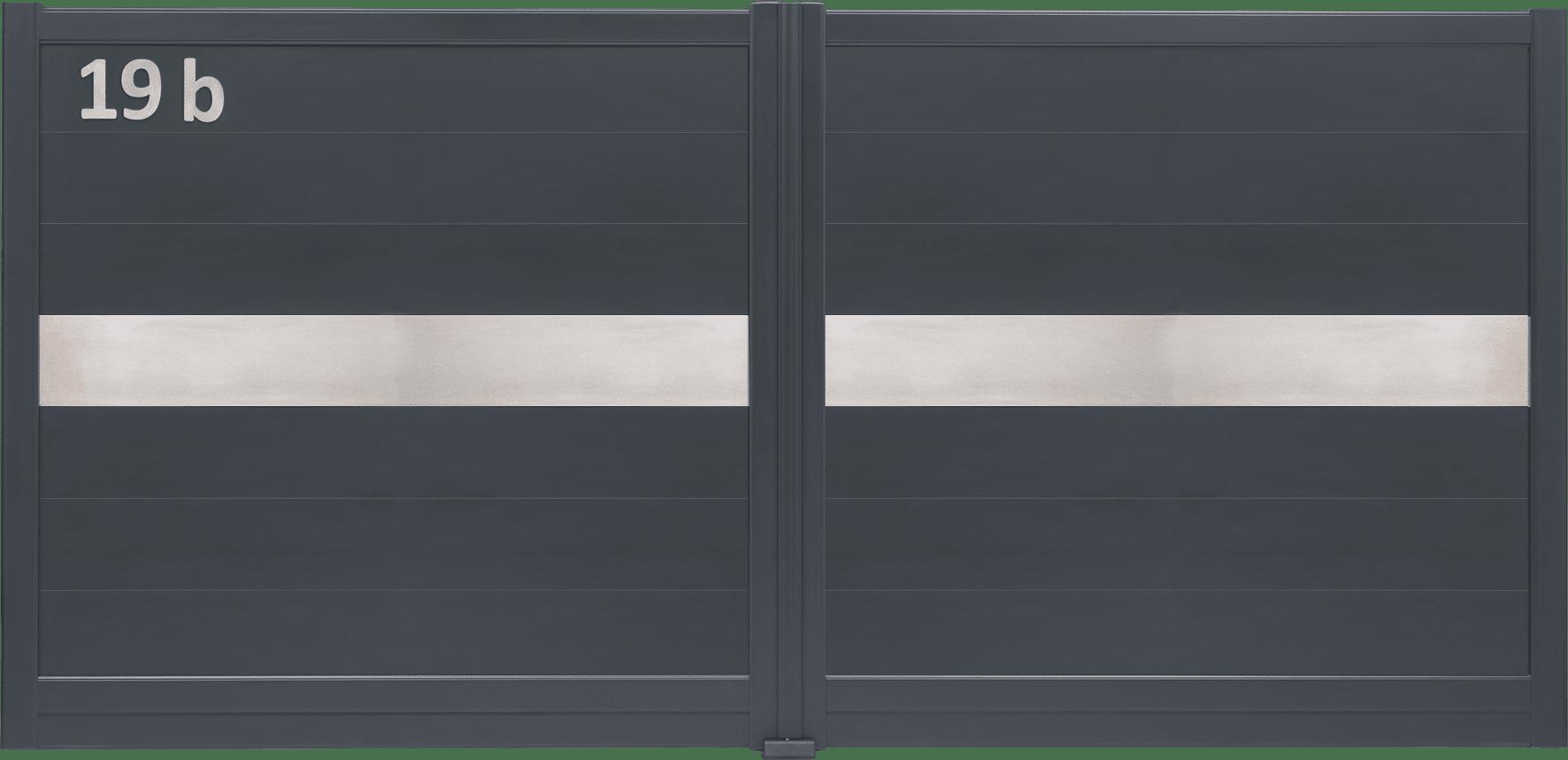 Portail aluminium design et contemporain : Charuel