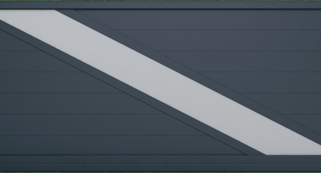 Portail aluminium Lampétra