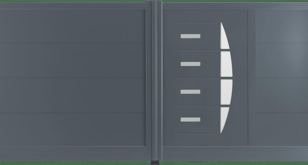 Portail aluminium Lewis