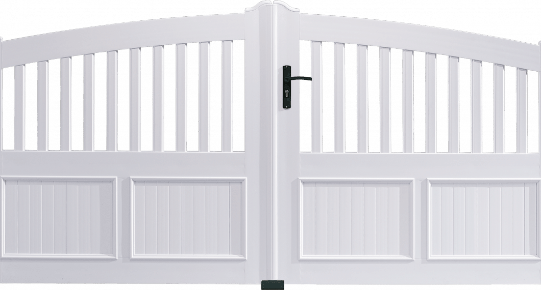 Portail PVC Lyre