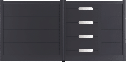 Portail aluminium Mack