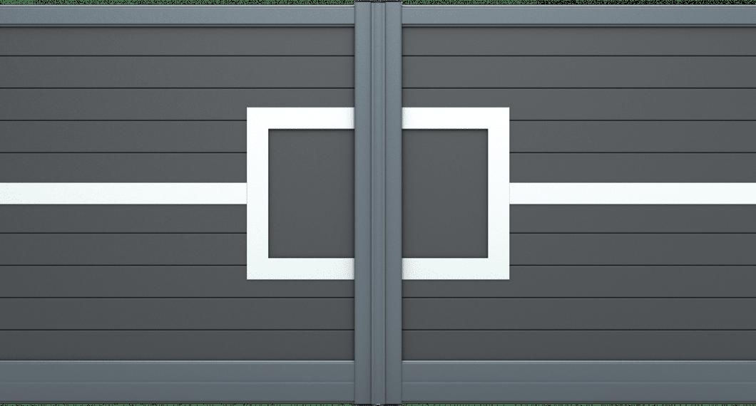 Portail aluminium Maloya